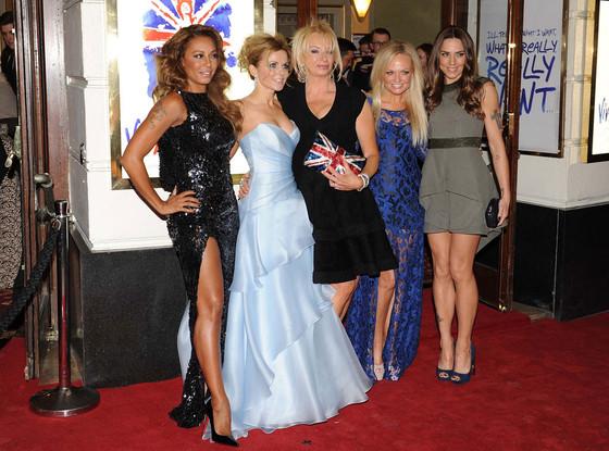 Spice Girls, Melanie Chisholm, Geri Halliwell, Emma Bunton, Melanie Brown