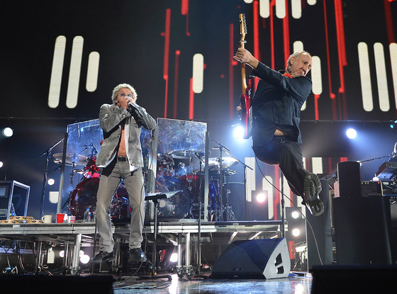 The Who, Sandy Concert