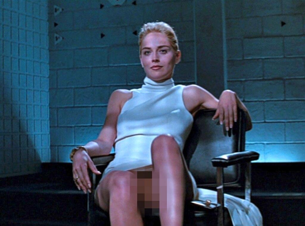 Sharon Stone Basic Instinct Naked