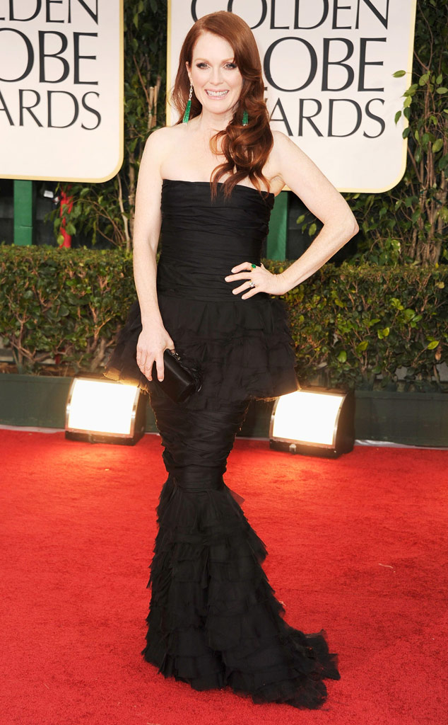 Julianne Moore, Golden Globes Dress Predictions