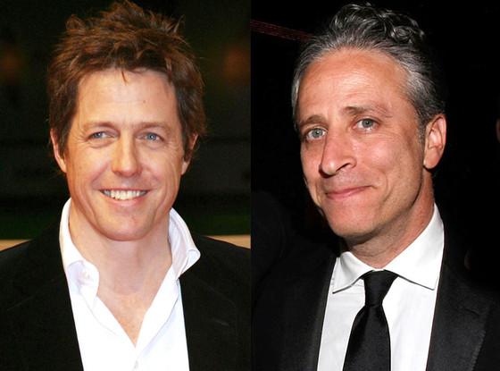 Hugh Grant, Jon Stewart