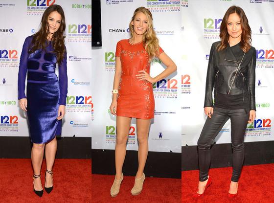 Katie Holmes, Blake Lively, Olivia Wilde