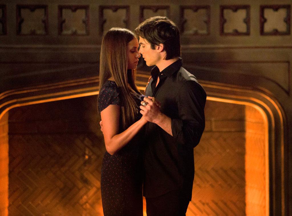 1. Damon & Elena, The Vampire Diaries
