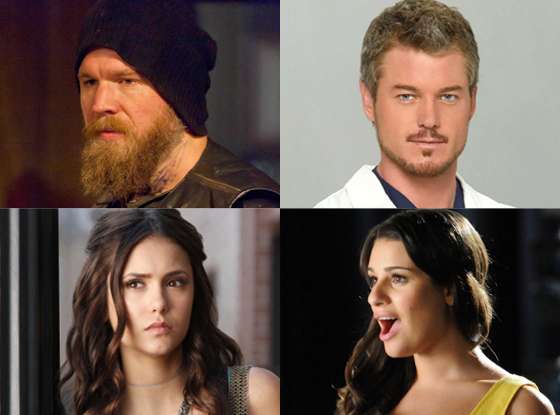 Nina Dobrev, The Vampire Diaries, Ryan Hurst, Sons of Anarchy, Eric Dane, Grey's Anatomy, Lea Michele, Glee
