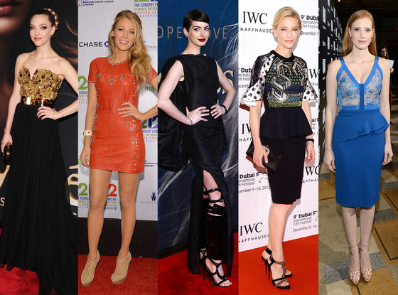 Amanda Seyfried, Blake Lively, Anne Hathaway, Cate Blanchett, Jessica Chastain