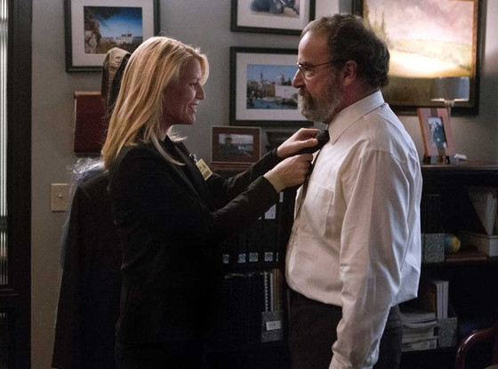 Mandy Patinkin, Claire Danes, Homeland
