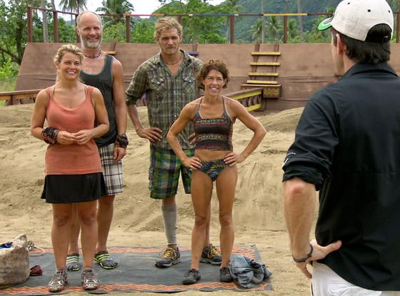 Lisa Whelchel, Michael Skupin, Malcolm Freberg, Denise Staple, Survivor: Philippines, Jeff Probst