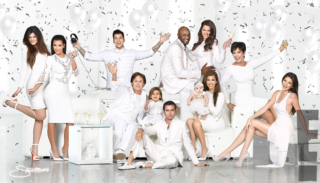 Kardashian Holiday Card, Christmas Card