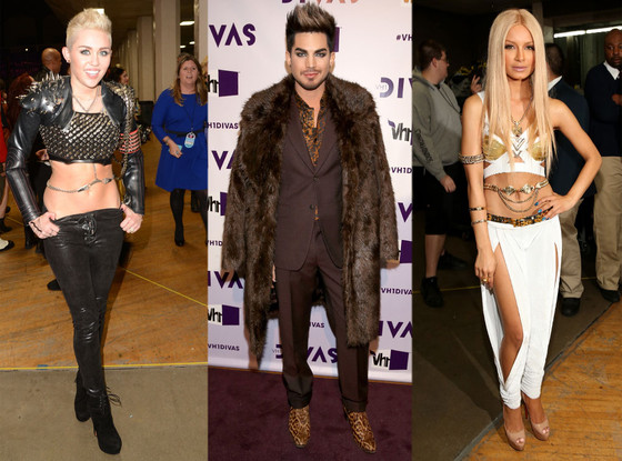 Miley Cyrus, Adam Lambert, Havanna Brown, VH1 Divas