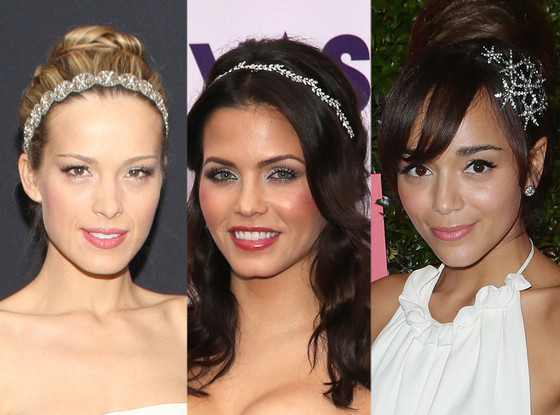 Ashley Madekwe, Jenna Dewan-Tatum, Petra Nemcova, Crystal headbands