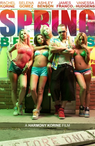 Spring Breakers, poster