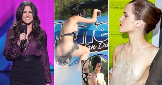 Khloe Kardashian, Katy Perry, Emma Watson