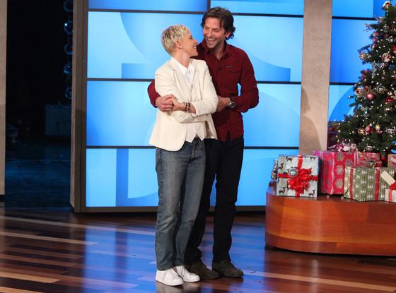 Bradley Cooper, Ellen Degeneres