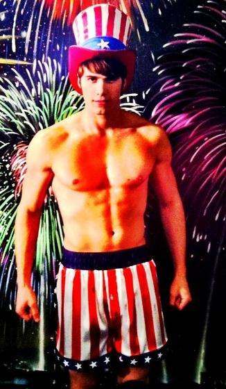 Darren Criss, Blake Jenner, Glee