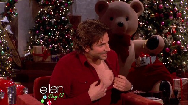 Bradley Cooper, The Ellen Show