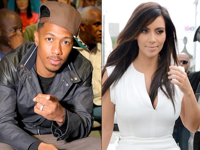 Kim Kardashian e Nick Cannon