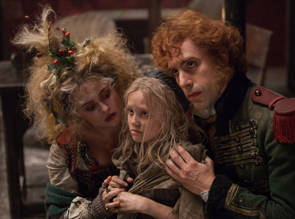 Sacha Baron Cohen, Helena Bonham Carter, Isabelle Allen, Les Miserables