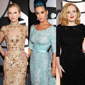 Best of Grammys 3-split: Taylor Swift, Katy Perry, Adele