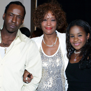 Bobby Brown, Whitney Houston, Bobbi Kristina