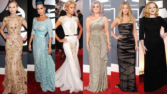 Best of Grammys 6 Split: Taylor Swift, Katy Perry, Paris Hilton, Kelly Osbourne, Julianne Hough, Adele