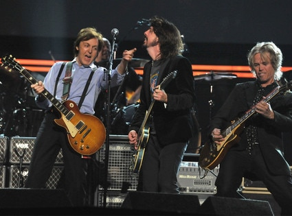Paul McCartney, Dave Grohl, Brian Ray