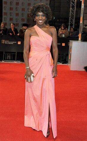 BAFTA Arrivals, Viola Davis