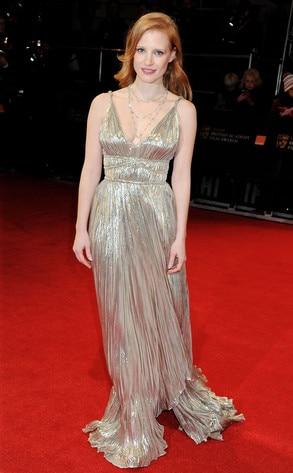 BAFTA Arrivals, Jessica Chastain