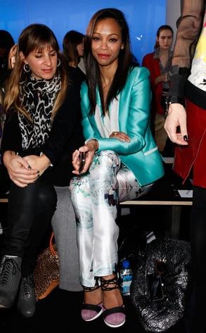 Zoe Saldana, NY Fashion Week