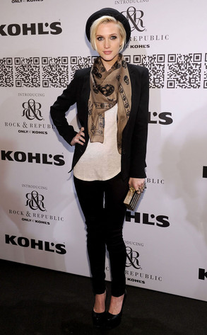 Ashlee Simpson, NY Fashion Week