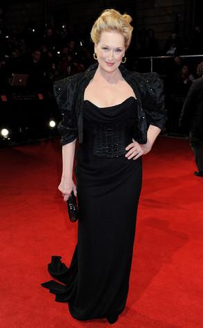 BAFTA Arrivals, Meryl Streep