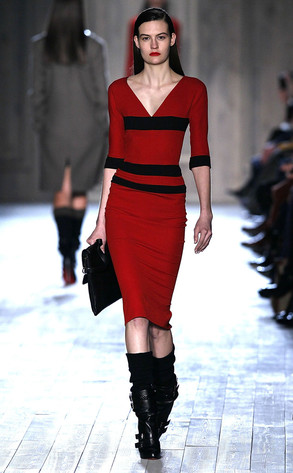 Victoria Beckham Model, NY Fashion Week