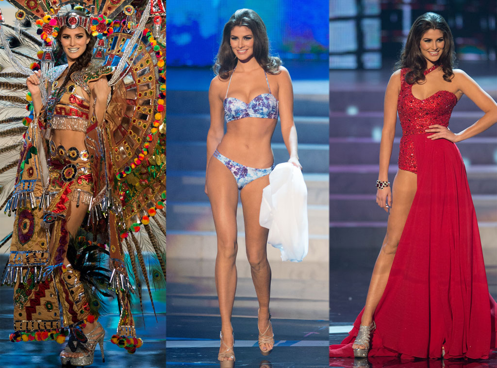 Miss Mexico, Costume, Swimsuit, Gown
