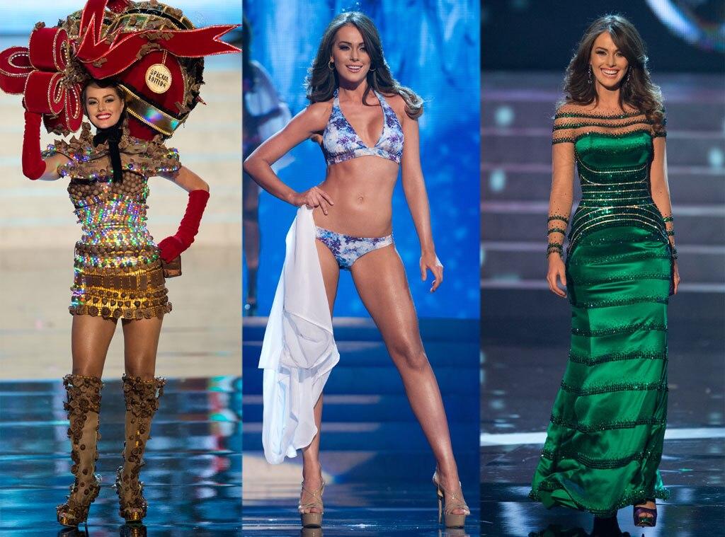 Miss Venezuela Costume, Swimsuit, Gown