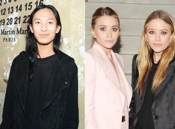 Ashley Olsen, Mary-Kate Olsen, Alexander Wang