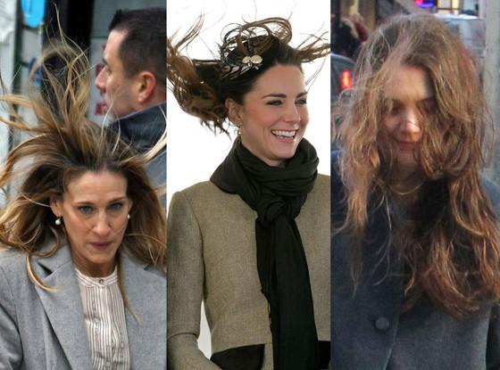 Kate Middleton, Sarah Jessica Parker, Katie Holmes