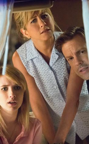 Emma Roberts, Jennifer Aniston, Jason Sudekis, We're the Millers