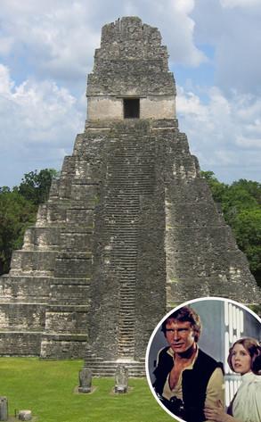 Mayan Temple, Star Wars