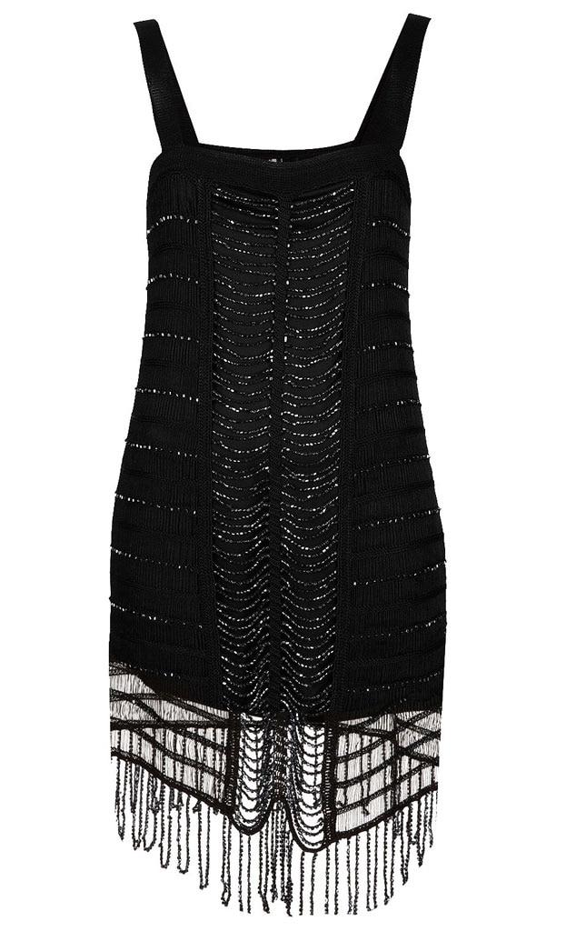 TopShop Beaded Flapper Dress