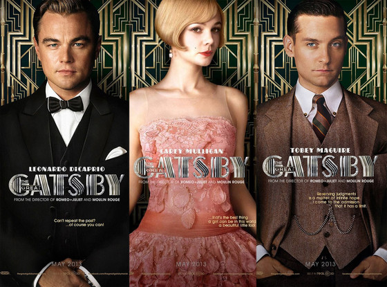 the great gatsby character posters revealed see leonardo dicaprio