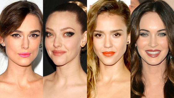 Keira Knightley, Amanda Seyfried, Jessica Alba, Megan Fox
