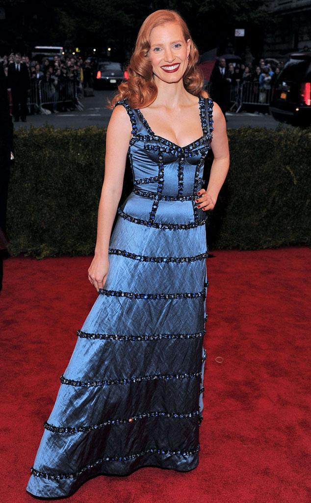MET Gala, Jessica Chastain