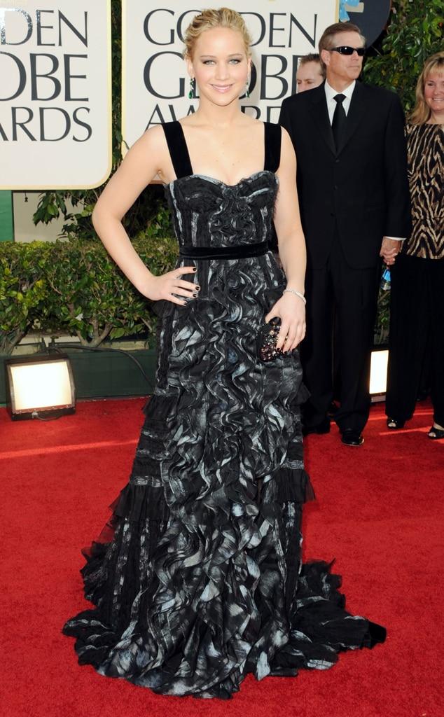 Jennifer Lawrence, Golden Globes Dress Predictions
