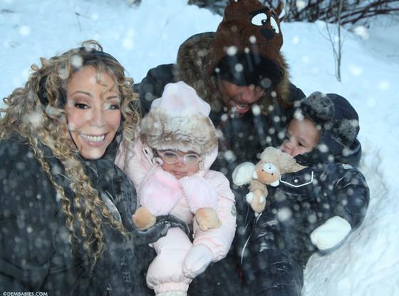 Mariah Carey, Nick Canon, Dem Babies