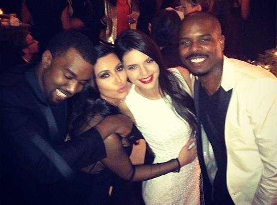 Kanye West, Kim Kardashian, Kendall Jenner, Instagram