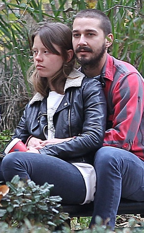 Shia labeouf dating co-star