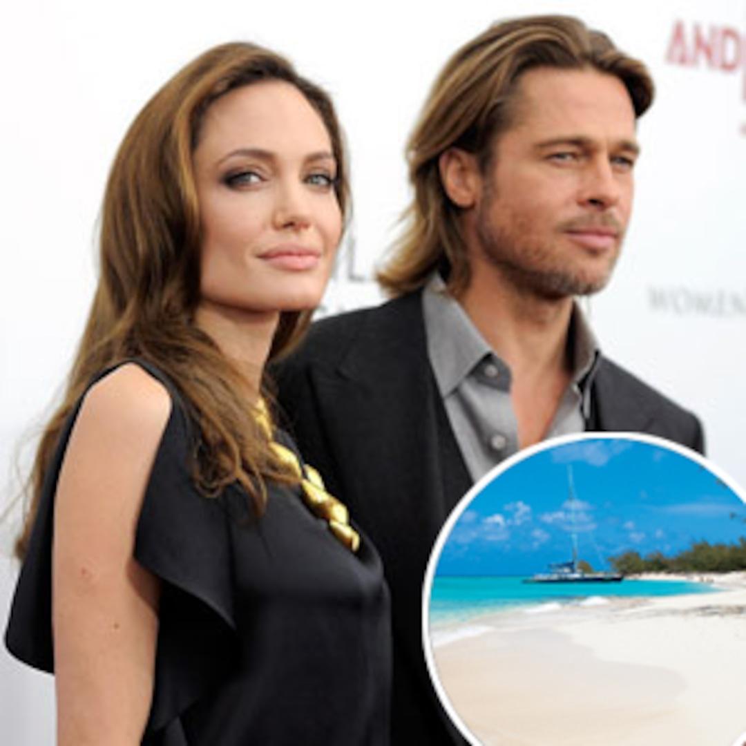 Brad Pitt And Angelina Jolie Spend Christmas Vacation On