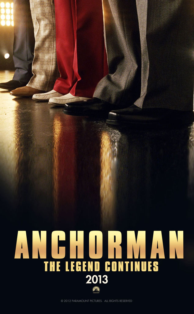 Anchorman The Legend Continues Poster