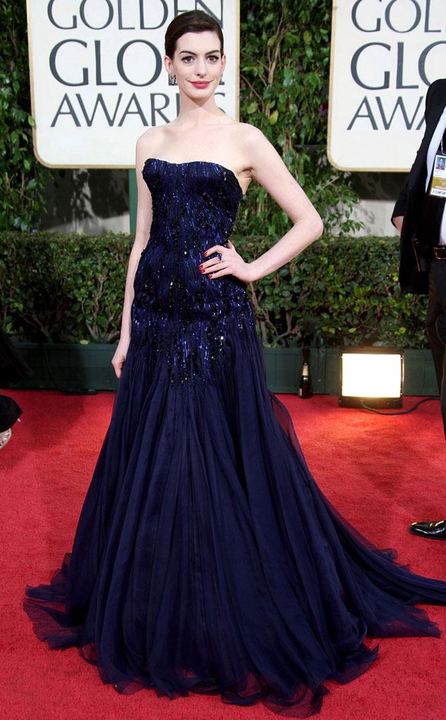 Anne Hathaway, Golden Globes, 2009