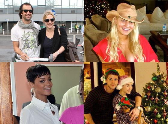 Kate Winslet, Ned Rocknroll, Jessica Simpson, Rihanna, Miley Cyrus, Liam Hemsworth