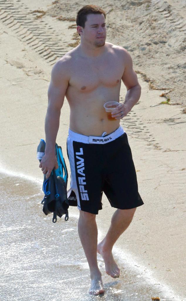 Lucky, Jenna Dewan! Channing Tatum Gets Naked When He Gets